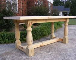 Kitchen Island Table Legs Solid Pine Kitchen Island Table Distressed Ivory Finish