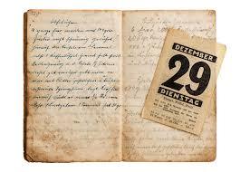 vieux livre de cuisine ouvrez le vieux livre de cuisine avec la page antique de calendrier