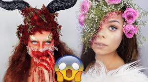 Easy Halloween Makeup Tutorials by Top 15 Diy Halloween Makeup Tutorials Compilation 2017 Youtube