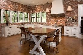 Brick Pattern Laminate Flooring Brick Kitchen Units Unique Wooden Roof Design Brown Wooden