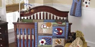 Sports Themed Crib Bedding Sports Theme Crib Bedding Easy Nursery Decor