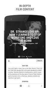mubi u2013 stream u0026 download films android apps on google play