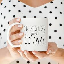 Awesome Coffee Mugs Coffee Mugs I U0027m Introverting Please Go Away Mug