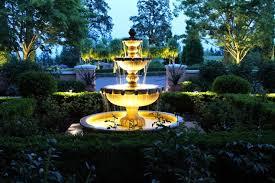 solar fountains with lights outdoor garden fountains solar fountain garden plans
