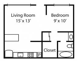 apartment studio floor plan small studio apartment floor plans