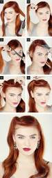 7 easy retro hair tutorials from pinterest retro hair retro and