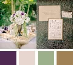 5 fall wedding color palettes mywedding