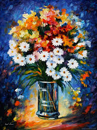 Flower Vase Painting Ideas 40 Beautiful And Realistic Flower Paintings For Your Inspiration