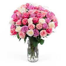 bouquet of roses in pink bouquet 50 stems sam s club