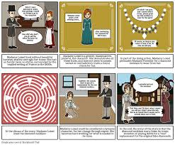 her story necklace images The necklace by guy de maupassant storyboard by cookiedraws png