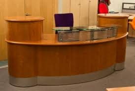 Reception Desk For Sale Used Second Reception Desk Used Desks And Seating With Regard