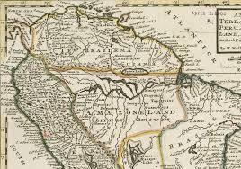 Lima Map File 1732 Lima Detail Map Of Terra Firma Peru Amazone Land