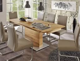 Esszimmertisch Ausziebar Säulentisch Ataro A 1xl Bootsform Tisch Ausziehbar Querfräsung