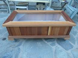 Standing Planter Box Plans by Wood Garden Box Plans Home Outdoor Decoration