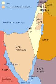 Bosphorus Strait Map Map Of Israel Showing The Golan Heights West Bank And Gaza Strip