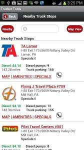 Pennsylvania pilot travel centers images Trucker tools android apps on google play