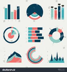 flat charts graphs vector design stock vector 271306007 shutterstock flat charts graphs vector design