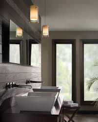 innovative bathroom pendant lighting ideas in house design plan