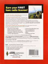 the arrl ham radio license manual arrl inc 9781625950130