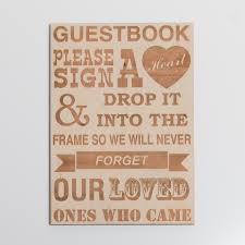 guest book sign in engraved guest book sign blacklist prints mackay qld