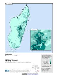 Map Of Madagascar Maps Poverty Mapping Sedac