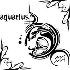 acuario tatuaje tribal tattoos pinterest aquarius tattoo
