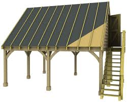 double carport with room above basic kit as supplied without double carport with room above basic kit as supplied without options
