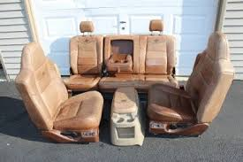 F250 Interior Parts Amazon Com 99 2010 Ford F250 F350 King Ranch Leather Seats