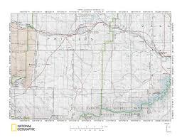Beaver Creek Colorado Map by Milk River Missouri River Drainage Divide Area Landform Origins