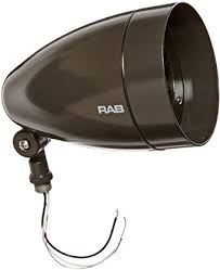 rab led flood lights rab lighting hbled13a bullet shape cool led floodlight with hood and