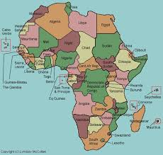africa map states africa map labeled test your geography knowledge africa countries