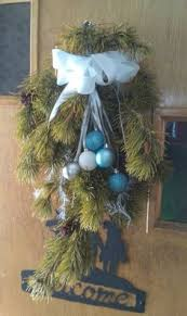 Decorated Christmas Tree Branches by How To Make A Wreath Using Your Leftover Christmas Tree Branches