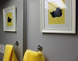 Grey And Yellow Bathroom Ideas Grey And Yellow Bathroom Modern Bathroom Toronto By
