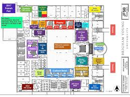 University Of Utah Parking Map by Map Byu French Language Fair