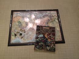 using cheap poster frames for rpg maps s w shinn