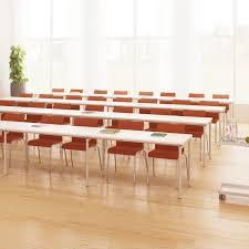 contemporary architecture characteristics contemporary classroom table steel melamine laminate