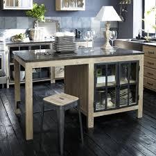 meuble de cuisine ind endant deco mural cuisine maison du monde