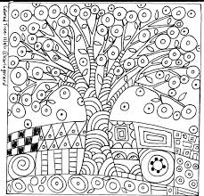 stupefying folk art coloring pages dover folk art coloring book