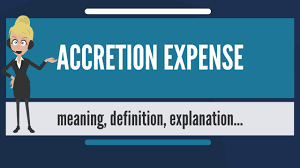 Define Expense Report by What Is Accretion Expense What Does Accretion Expense Mean