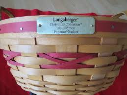 amazon com longaberger christmas collection 1999 edition popcorn