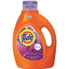 shop tide 92 fl oz spring and renewal he laundry detergent at