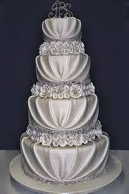 silver wedding cakes silver wedding cake decorations wedding corners