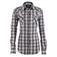 Black And White Plaid Shirt Womens No Way Plaid Shirt For Women Fosoz