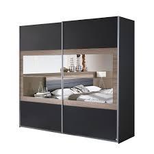 Schlafzimmer Komplett Bett Schwebet Enschrank Rauch Rauch Tarragona Schlafzimmer Grau Metallic Eiche Sanremo
