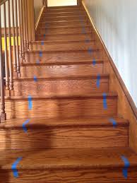 Using Laminate Flooring On Stairs How To Install A Stair Runner Simply Turquoise