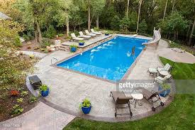 Backyard Swimming Pools by Swimming Pool Stock Photos And Pictures Getty Images