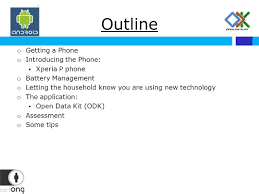 android os using data mobile data collection with open data kit odk android os