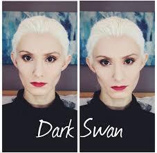 Halloween Black Swan Makeup Once Upon A Time Dark Swan Makeup Tutorial Youtube