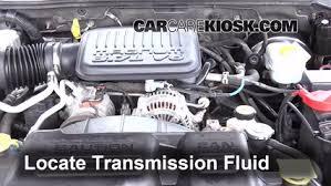 2001 dodge dakota manual transmission transmission fluid level check dodge dakota 1997 2004 2002