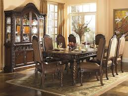 old world dining room tables traditional old world 11 piece dining set dark brown sam
